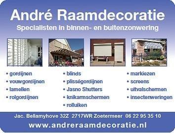 André Raamdecoratie